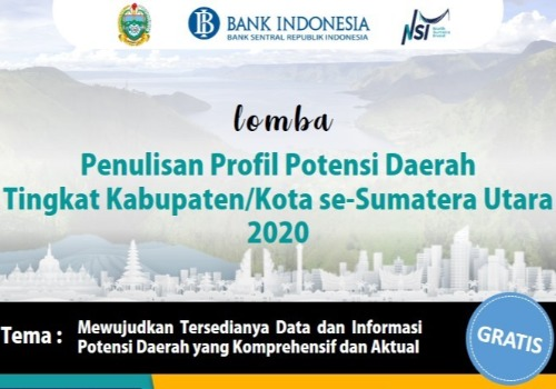 Potential Profile Writing Competition for Regency/City in North Sumatra 2020